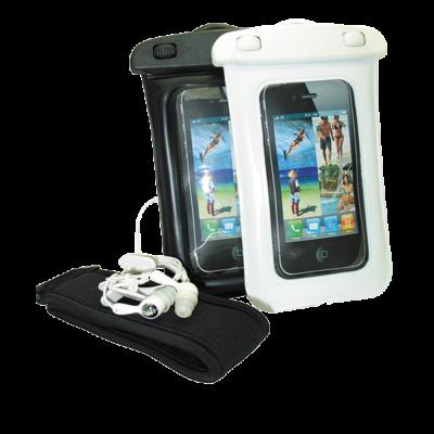 Étui étanche pour IPhone avec brassard et écouteurs