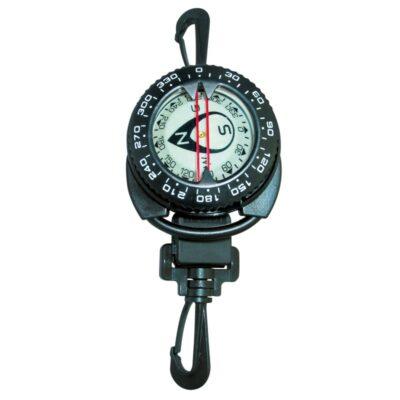 Compas avec rétracteur